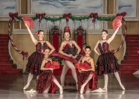 Belliston Ballet dancer group photo
